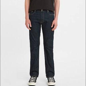 Levi's 513 Slim Straight Leg Jeans Sz 30